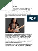 Biografía de Joe Perry