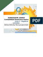 SIMULADOR 106003 - Tarea 2 - Registros Contables .