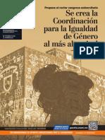 Gaceta UNAM. 3 de marzo de 2020