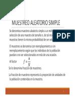 MUESTREO_ALEATORIO_SIMPLE