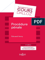 Procedure Penal_Dalloz