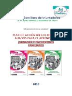 PLAN DE JORNADAS Y ENCUENTROS FAMILIARES