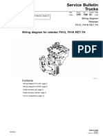 Wiring Diagram for Retarder FH12, FH16 RET-TH