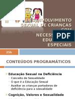 ufcd3292 - Desenvolvimento sexual crianças com NEE