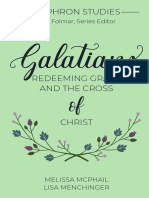 SAMPLE - Galatians - Sophron Series Vol 1 - McPhail and Menchinger - Cruciform Press