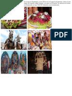 Comidas, tradiciones, bailes de Guatemala