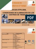 ACTUALIZACION NOM-025-STPS-2008
