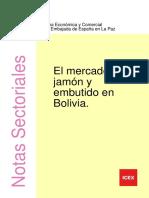 INFORME El mercado del JAMON EN BOLIVIA
