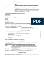 Anexa II.8 Model de Contract Pentru Mobilitate VET Participant Stagiar Fara ECVET Fara OLS 2019