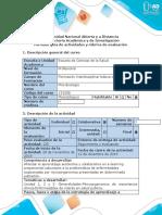 Guía de actividades y rúbrica de evaluación - Paso 6 - Elaborar Estudio de Caso Final