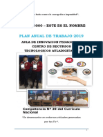 Plan Aip 2019