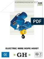 GH Electric Wire Rope Hoist