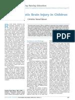 Mild Traumatic Brain Injury in Children Christine Narad Mason