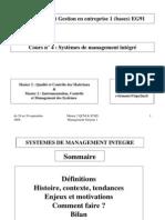 4. Système de management intégré QSE