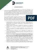 VALORES AGREGADOS IASOTECG LABORATORIO DE METROLOGÍA Y SERVICIO TÉCNICO