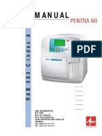 abxPENTRA60 user manual