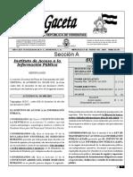 GACETA ENERO 2020 LINEAMIENTOS DE ARCHIVO