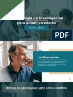Metodología de investigación para administradores