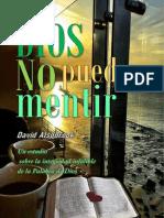 Dios No Puede Mentir - David Alsobrook