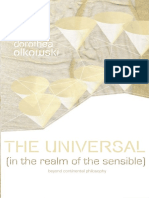 OLKOWSKI, Dorothea - The universal (in the realm of the sensible)