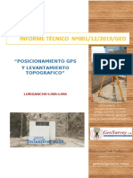 INFORME Nº 012 TECNICO _LURIGANCHO