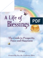 A Life of Blessings - The Guide to Prosperity, Peace and Happiness