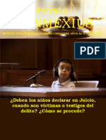 deben declarar los niños en juicio oral cuando son victimas o testigod REVISTA INMEXIUS 2019