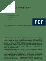 Tipos de Gobierno Generalidades de estado I 2019 III