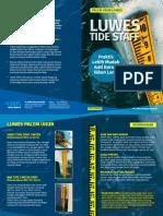 Brosur Luwes Tide Staff (Palem)