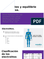 pH y Electrolitos