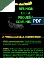 REUNIÓN DE LA PEQUEÑA COMUNIDAD
