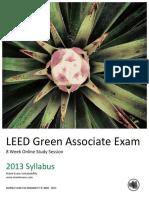 8 Week Syllabus LEED Green Associate