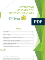 INSTRUCTIVO SOFTWARE DE PROCESOS