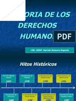 Historia de los derechos humanos presentacion