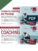 invito Scuola di Coaching per psicologi