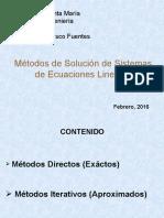 Metodos de Solucion de Ec Lineales.ppt