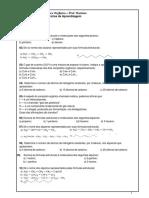 Química - Mariano TC 1 Orgânica