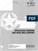 FM 100-2-2 the Soviet Army - Specialized Warfare and Rear Area Support