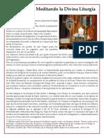 Meditación y expliación de la Divina Liturgia (Misa).pdf