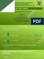 LEY DE CORTE