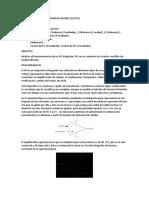 PRÁCTICA CON CIRCUITO AMPLIFICADORES