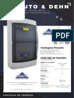 COMBINER FUSE BOX-CFB-16E-1S-1000DC-F-ALDO