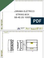 Diagrama Eletrico Stringbox Proauto - SB-4E-2S 1000DC