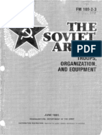 FM 100-2-3 the Soviet Army - Troops, Organization, And Equipment