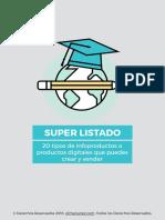 4.-Tipos de Infoproductos