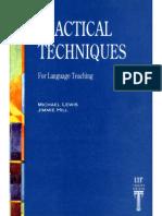 Practical Techniques for Language Teaching.pdf