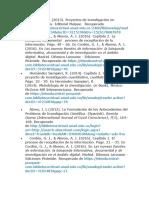 LECTURAS DE LA UNIDAD 1. FUNDAMENTOS DE LA INVESTIGACION