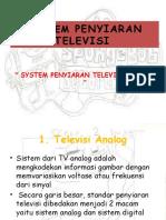 SYSTEM PENYIARAN TELEVISI ANALOG