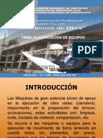 CLASIFICACION DE EQUIPOS