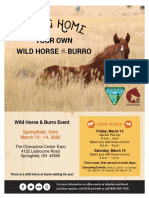 Springfield, Ohio wild horses and burros for adoption, sale